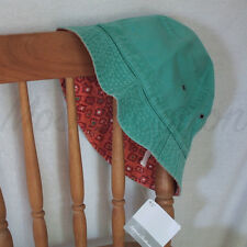 NWT Hanna Andersson toddler unisex 100% Cotton Reversible Crusher Bucket Hat S