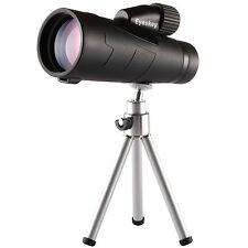 Eyeskey Waterproof 10x50 Monocular Side Hand Strap w/ Tripod for Bird Watching