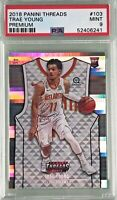 Trae Young 2018 Panini Threads Premium Rookie /199 PSA 9 Mint