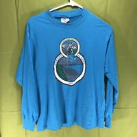 Vintage 1991 Seward Alaska Long Sleeve T-Shirt Men's Size Medium