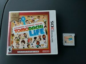 Tomodachi Life CIB Complete in Box Tested and Works (3DS, 2014)