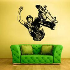 Wall Vinyl Sticker Decal Skate Skateboard Rampa Roller Skaters Board (Z2057)