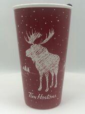 Tim Hortons 2018 Moose Ceramic Coffee Mug Travel Tumbler Buffalo Sabre Free Ship