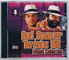 BUD SPENCER E TERENCE HILL MUSIC COLLECTION  VOL. 4 CD HOBBY & WORK SIGILLATO!!!