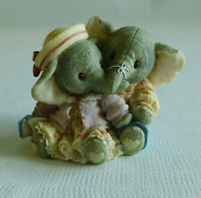 Enesco Two-Gether Forever Noah's Ark Our Trunks are Packed With Love ~ Elephants