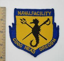 Us Navy Naval Facility Coos Head Oregon Patch Original