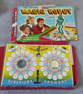 Magic Robot Game Vintage Spares Merit 3rd Edition