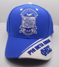ZETA PHI BETA EST. 1920 COLLEGE FRAT BALL CAP HAT Blue is Darker in person