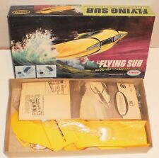 "VINTAGE AURORA 1968 THE FLYING SUB FROM ""VOYAGE TO THE BOTTOM OF THE SEA"" KIT"