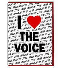 Greeting Card - Birthday Card - I Love The Voice