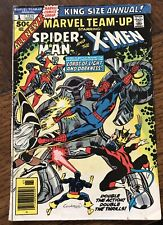 Marvel Team-Up  #1 Spider-Man and the X-Men - King Size Annual  1976 Ungraded