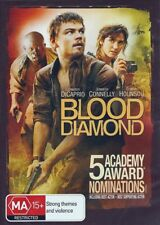 BLOOD DIAMOND (Leonardo DiCAPRIO Jennifer CONNELLY Djimon HOUNSOU) DVD Region 4
