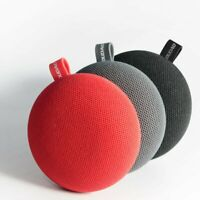 Tragbarer Bluetooth Lautpsprecher Musik Box Stereo Wireless ROT & SCHWARZ