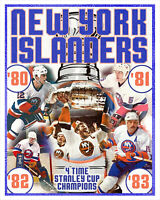 New York Islanders Stanley Cup Championships - poster print