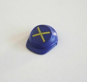 PLAYMOBIL (03220) Chapeau Casquette Bleu Croix Soldat Nordiste 3023 3037 3812