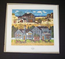 "Charles Wysocki Limited Edition Hand Signed Print ""Devilstone Harbor"""