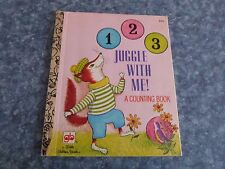LITTLE GOLDEN BOOK -  123 JUGGLE WITH ME , A COUNTING BOOK - (PAPERBACK)