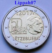 Luxemburg speciale 2 euro 2017 Vrijwillige Militaire Dienst UNC