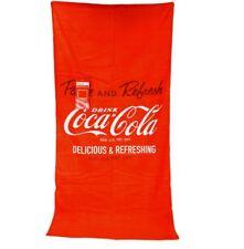 Coca cola enjoy toalla playa pañuelo badetuch 75x150cm playa pañuelo