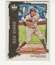 2021 Diamond Kings Manny Machado Litho Proof #12/25 San Diego Padres