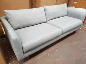 John Lewis & Partners Sample Large 3 Seater Sofa, Saga Grey - RRP: £1,299