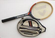Raquette Tennis ancienne - DONNAY - Smasher Pro avec housse - TBE