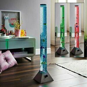 90cm Colour Changing LED Sensory Bubble Tube Lamp Mood Fish Water