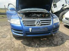 vw touareg Front Bumper 2003 - 2006 blue la5w