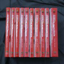 Haruhi Suzumiya Hardcover Novels 1-10 Light Novel Set English Brand New