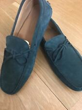 Tod's Men's Gommino Suede Driving Loafers Size 7.5/US8.5