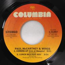 PAUL McCARTNEY 45 EP: Coming Up / Coming Up Live / Lunch Box Odd Sox,Columbia NM