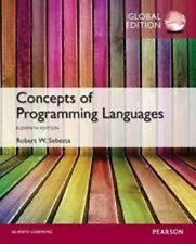Concepts of Programming Languages 11e by Robert W. Sebesta global edition