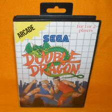 VINTAGE 1988 SEGA MASTER SYSTEM DOUBLE DRAGON ARCADE CARTRIDGE VIDEO GAME PAL