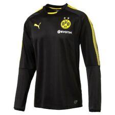 Camisetas de fútbol para hombres negros talla M