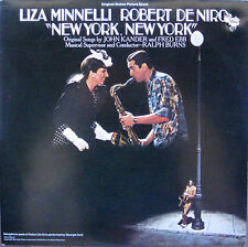 """New York, New York"" Soundtrack  DeNiro & Minnelli  UALA750 L2 -NM Vinyl-1977"