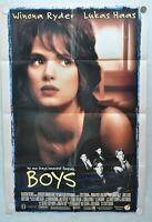 1996 Boys Original 1SH D/S Movie Poster 27 x 41 Winona Ryder Lukas Haas