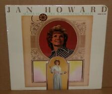 Jan Howard Love Is Like A Spinning Wheel MINT SEALED LP vinyl record cut out