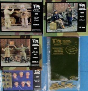 Verlinden Publishing Bundle Deal 4 Figure Sets + 1 Detail Lot 33 #VBu33U
