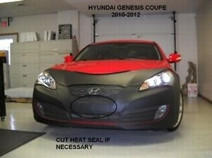 Lebra Front End Mask Cover Bra Fits 2010-2012 Hyundai Genesis Coupe