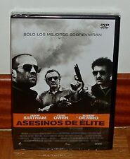 ASSASSINI ELITE DVD NUOVO SIGILLATO THRILLER D'AZIONE DI ROBERT NIRO (SENZA
