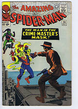 Amazing Spider-Man #26 Marvel 1965 The Man in the Crime-Master's Mask !