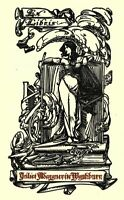 Bookplates, Ex Libris, Numerous Classic Book-Plate Designs, 30 Books on DVD
