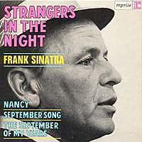 FRANK SINATRA Strangers in the night FR Press 45 Tours