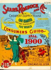 SEARS, ROEBUCK AND CO. CONSUMERS GUIDE: FALL 1900 (MINIATURE) **BRAND NEW**