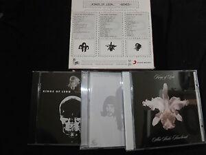 COFFRET 3 CD KINGS OF LEON / BOXED /