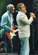THE WHO PHOTO  LIVE 8 2005 HUGE 12 INCH UNRELEASED UNIQUE IMAGE VALUABLE GEM