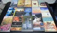 Lot of 15 Adult Novel Fiction Paperback Books, A.D. Scott, Harriet Evans....