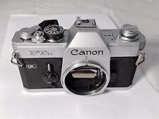 Canon FTb Film Camera Body - New Seals - Meter Working