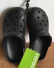 Crocs Shoes Slip On Ralen Clog Black Unisex Women Sz 6 Men Sz 4 NWT