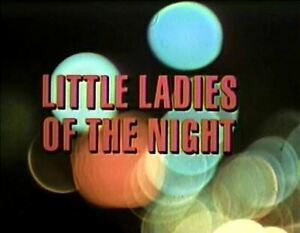 Little Ladies Of The Night - 1977 Stars: David Soul (UK dvd disc)